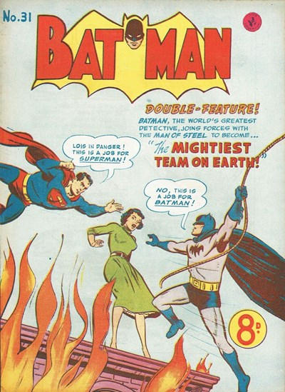 Batman (Colour Comics, 1950 series) #31 ([December 1952])