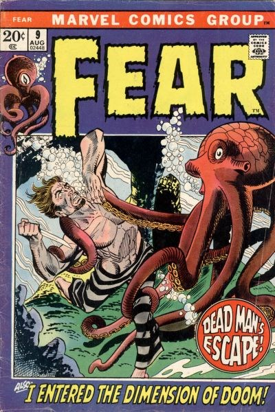 Fear (Marvel, 1970 series) #9 (August 1972)