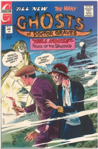 The Many Ghosts of Dr. Graves (Charlton, 1967 series) #36 (January 1973)