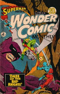 Superman Presents Wonder Comic Monthly (Colour Comics, 1965 series) #29 — Daze of the Bat-Knights