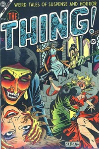 The Thing (Charlton, 1952 series) #12 (February 1954)