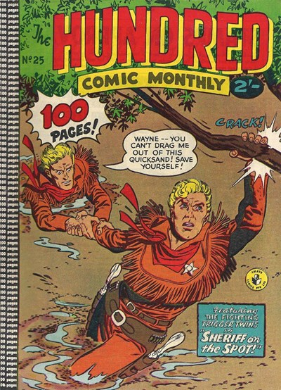The Hundred Comic Monthly (Colour Comics, 1956 series) #25 ([October 1958?])