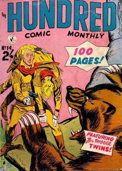 The Hundred Comic Monthly (Colour Comics, 1956 series) #14 ([November 1957?])