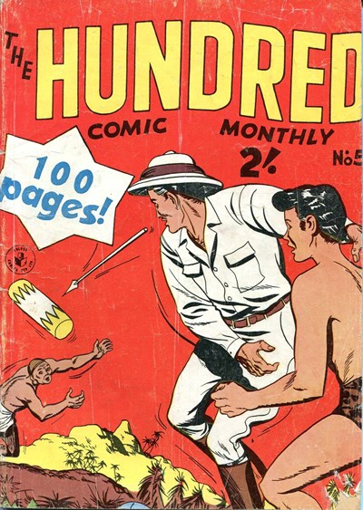 The Hundred Comic Monthly (Colour Comics, 1956 series) #5 ([February 1957?])