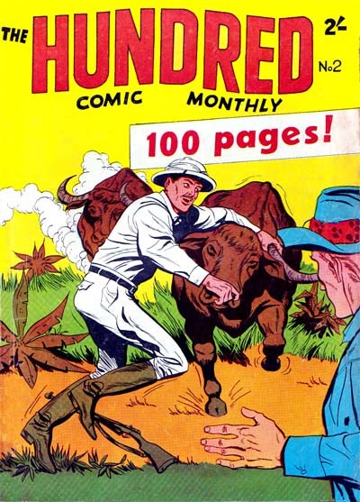 The Hundred Comic Monthly (Colour Comics, 1956 series) #2 ([November 1956?])