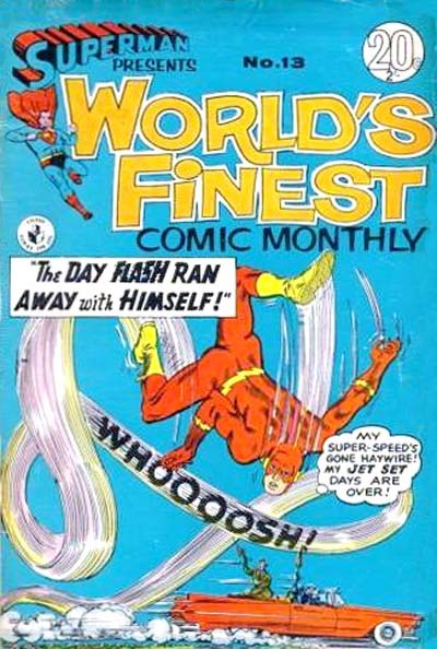 Superman Presents World's Finest Comic Monthly (Colour Comics, 1965 series) #13 ([May 1966?])
