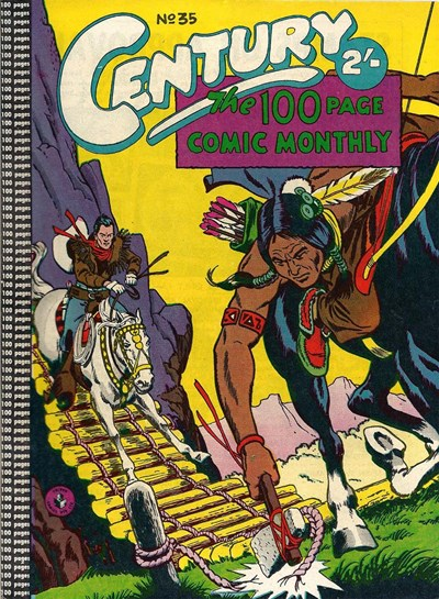 Century the 100 Page Comic Monthly (Colour Comics, 1956 series) #35 ([April 1959?])