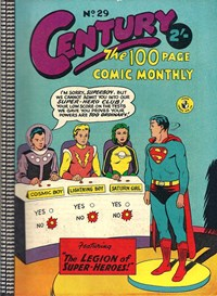 Century the 100 Page Comic Monthly (Colour Comics, 1956 series) #29 ([October 1958?])