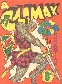 A Climax All Color Comic (KG Murray, 1948 series) #7 — No title recorded