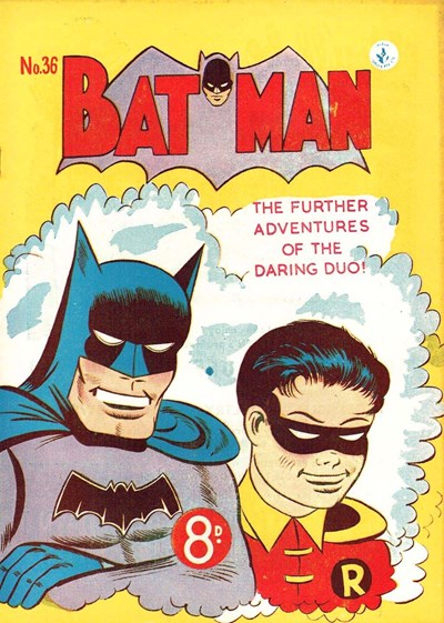 Batman (Colour Comics, 1950 series) #36 ([May 1953?])