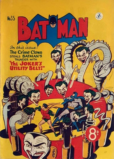 Batman (Colour Comics, 1950 series) #35 ([April 1953])