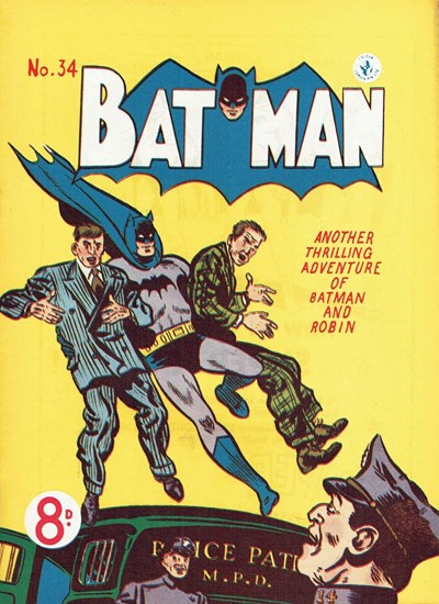 Batman (Colour Comics, 1950 series) #34 ([March 1953])