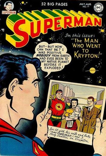 Superman (DC, 1939 series) #77  (July-August 1952)