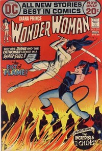 Wonder Woman (DC, 1942 series) #201 — The Fist of Flame