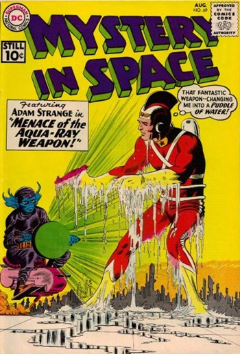 Mystery in Space (DC, 1951 series) #69 (August 1961)