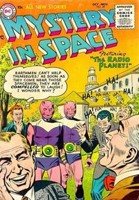 Mystery in Space (DC, 1951 series) #28 (October-November 1955)