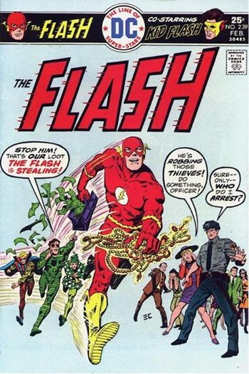 The Flash (DC, 1959 series) #239 (February 1976)
