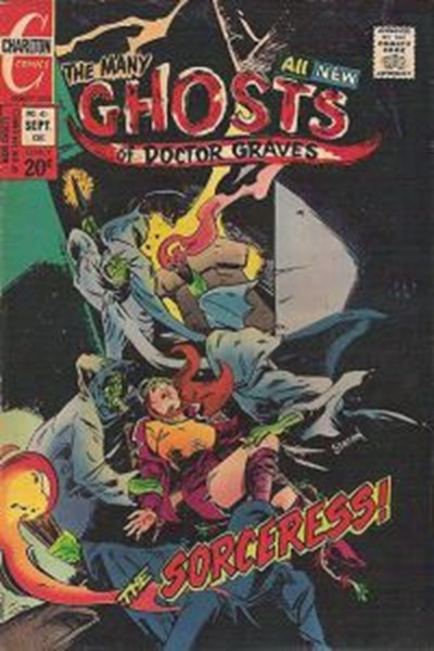 The Many Ghosts of Dr. Graves (Charlton, 1967 series) #41 (September 1973)