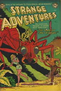 Strange Adventures (DC, 1950 series) #30 — The Great Ant Circus!
