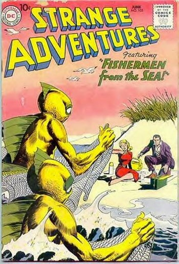 Strange Adventures (DC, 1950 series) #105 (June 1959)