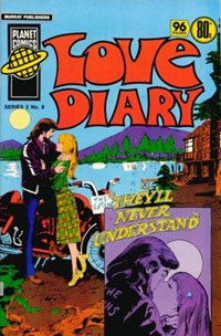 Planet Series 2 (Murray, 1979 series) #8 ([November 1979?]) —Love Diary