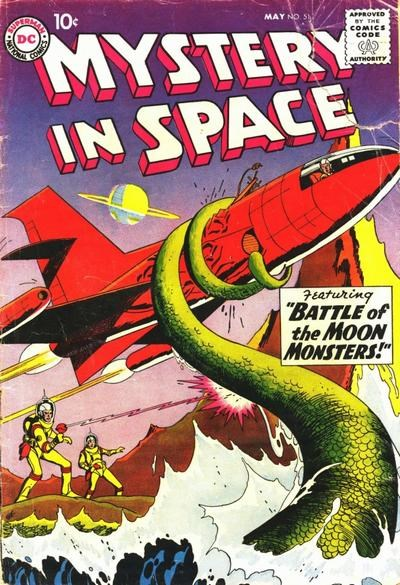 Mystery in Space (DC, 1951 series) #51 (May 1959)