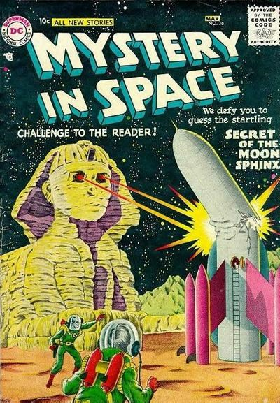 Mystery in Space (DC, 1951 series) #36 (February-March 1957)