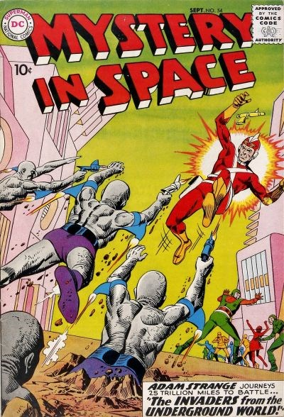 Mystery in Space (DC, 1951 series) #54 (September 1959)