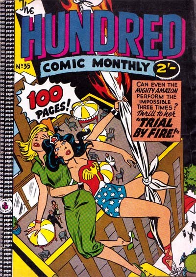 The Hundred Comic Monthly (Colour Comics, 1956 series) #35 ([August 1959?])