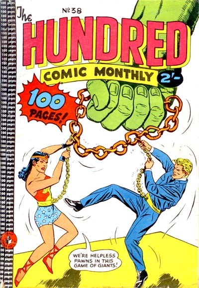 The Hundred Comic Monthly (Colour Comics, 1956 series) #38 ([November 1959?])