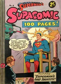 Superman's Supacomic (Colour Comics, 1958 series) #4