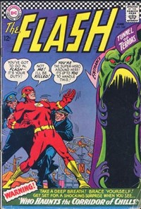 The Flash (DC, 1959 series) #162 — Who Haunts the Corridor of Chills!