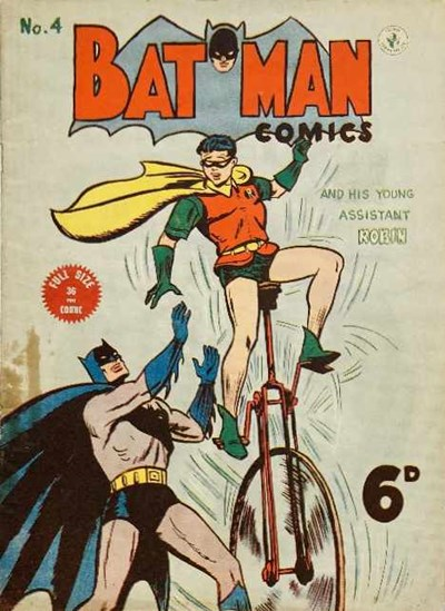 Batman Comics (Color Comics, 1950 series) #4 ([September 1950?])