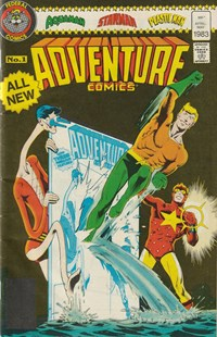 Adventure Comics (Federal, 1983 series) #1 — Untitled