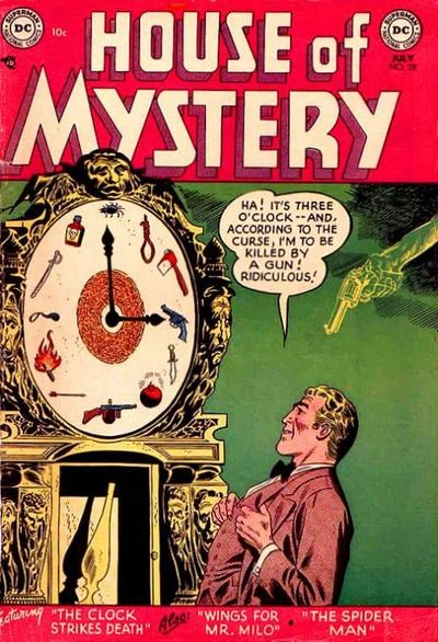 House of Mystery (DC, 1951 series) #28 (July 1954)