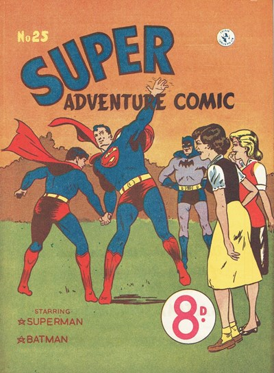 Super Adventure Comic (Colour Comics, 1950 series) #25 ([July 1952?])