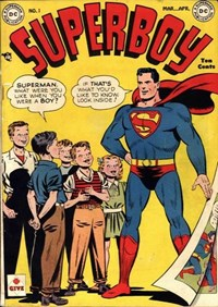 Superboy (DC, 1949 series) #1 — Untitled