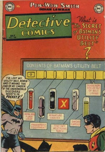 The Secret of Batman's Utility Belt
