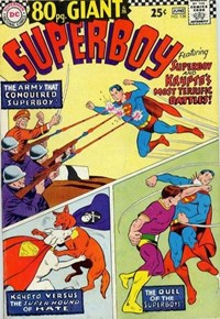 Superboy (DC, 1949 series) #138 — Superboy and Krypto's Most Terrific Battles