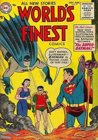 World's Finest Comics (DC, 1941 series) #77 — The Super-Batman