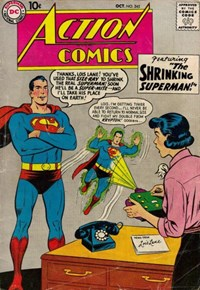 Action Comics (DC, 1938 series) #245 — The Shrinking Superman!