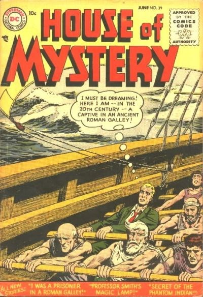 House of Mystery (DC, 1951 series) #39 (June 1955)