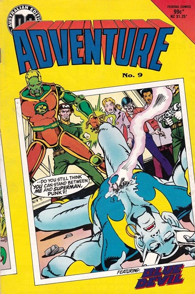 Adventure (Federal, 1983 series) #9 (May 1985)