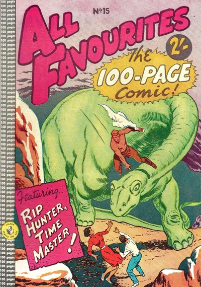 All Favourites, The 100-Page Comic (Colour Comics, 1958 series) #15 ([September 1959?])