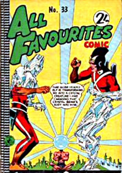 All Favourites Comic (Colour Comics, 1960 series) #33 ([October 1962?])