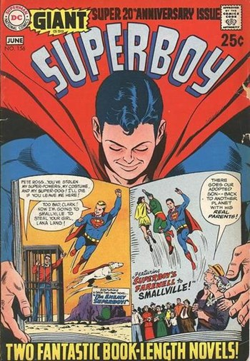 Superboy (DC, 1949 series) #156 (June 1969)