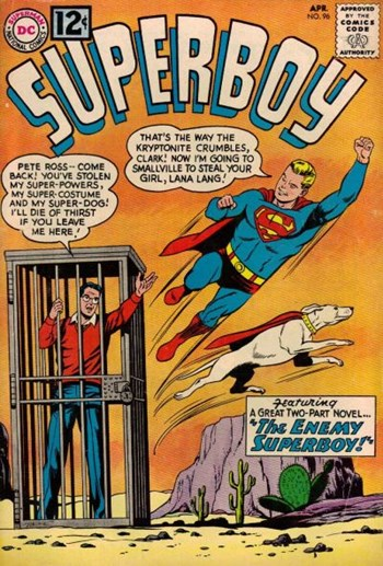Superboy (DC, 1949 series) #96 (April 1962)