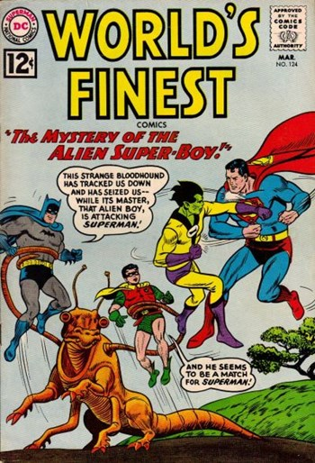 World's Finest Comics (DC, 1941 series) #124 (March 1962)