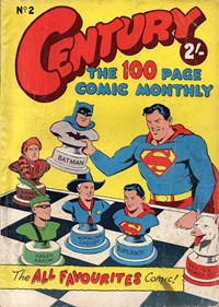 Century the 100 Page Comic Monthly (Colour Comics, 1956 series) #2 ([July 1956])