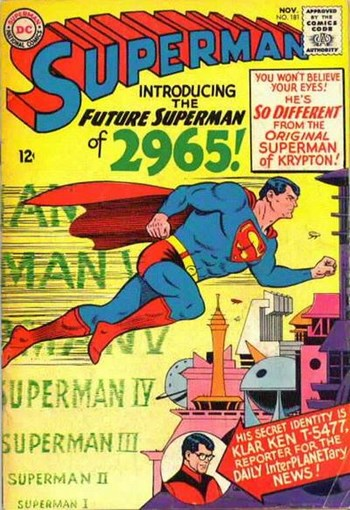 Superman (DC, 1939 series) #181 (November 1965)